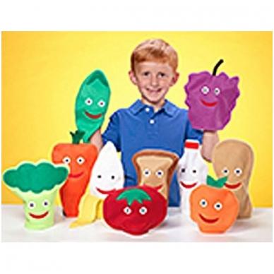 """Lėlės """"Vaisiai/daržovės – sveikas maistas"""" 2"""