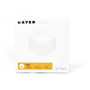 Mayku liejimo formų lakštai 0.5mm PETg ( 30vnt. pakuotėje )