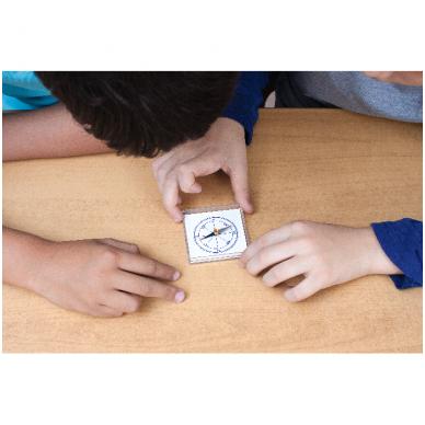 Magnetų ir kompasų rinkinys 1-6 klasei 2