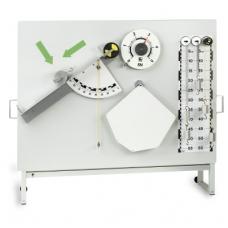 Mechanikos rinkinys demonstruoti ant magnetių lentų