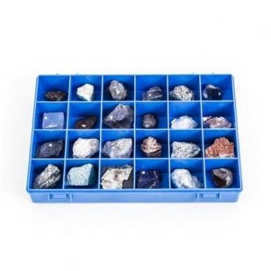 Mineralų kolekcija (24 vnt.)