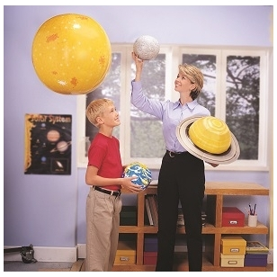"""Mokomasis rinkinys """"Saulės sistema"""", 5+"""