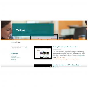 Mokomieji video pedagogams (anglų kalba)