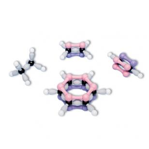 Molekulinių organinių struktūrų 4 modelių rinkinys Molyorbital™