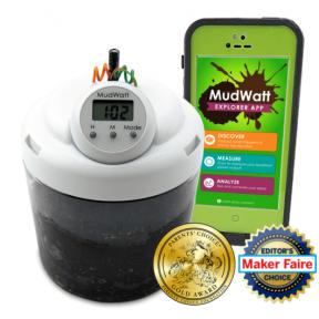 MudWatt: Klasikinis rinkinys    Pasigaminkite bioenergijos patys!