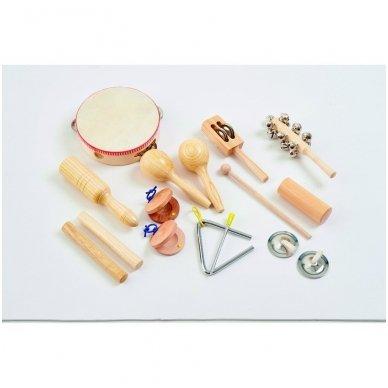 Mušamųjų instrumentų rinkinys - Pk10