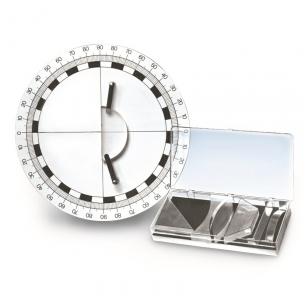 Optikos diskas su priedais