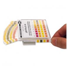 pH indikatorius juostelėmis (matavimo diapazonas pH 0 – 14)