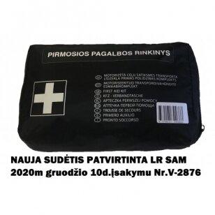Pirmosios pagalbos rinkinys atitinka SAM Nr.V-2876 (PVC dėkle)