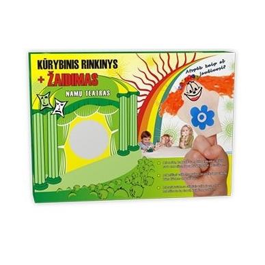 Pirštelių kūrybinis lėlių rinkinys - 4 lėlės
