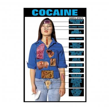 """Plakatas """"Kokainas"""""""