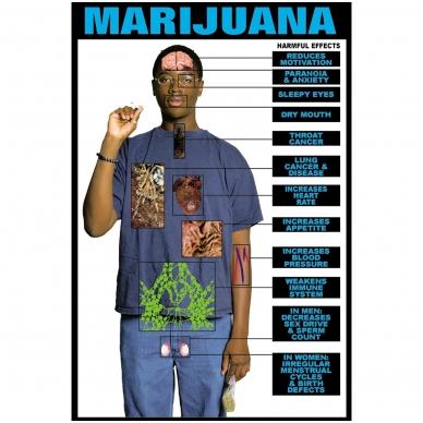 """Plakatas """"Marihuana"""""""