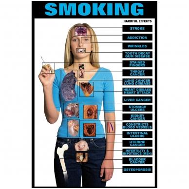 """Plakatas """"Rūkymas"""""""