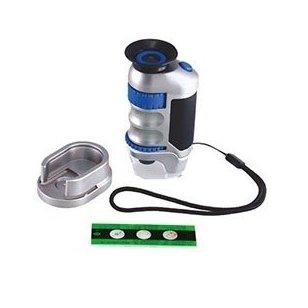 Rankinis mikroskopas (20x ir 40x optinis didinimas)
