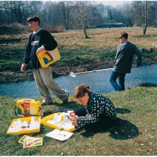 """Rinkinio vandens, dirvožemio ir oro eksperimentams """"Ecolabbox"""" papildymas"""