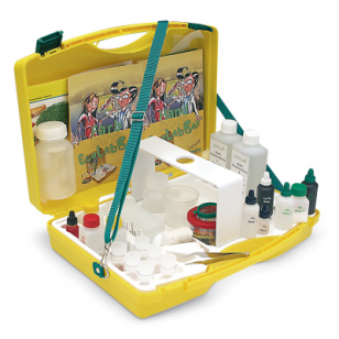 "Rinkinys vandens, dirvožemio ir oro eksperimentams ""Ecolabbox"""