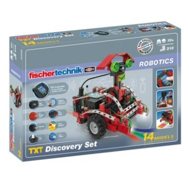 "Rinkinys ""Robotics TXT Discovery set"""