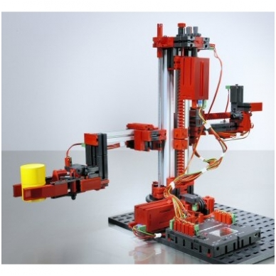 Rinkinys Train.Mod.3D Robots TX 9V