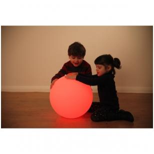 Sensorinė šviečianti kamuolio forma