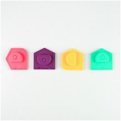 """Sekos elementų (krypties) papildymas robotui """"Kubiukui"""" 5"""
