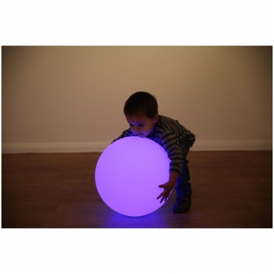 Sensorinė šviečianti kamuolio forma 2