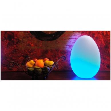 Sensorinė šviečianti kiaušinio forma 4