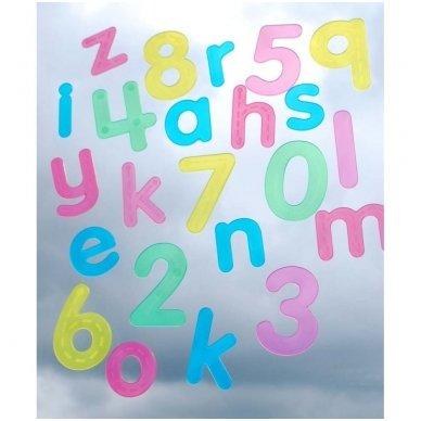 SiliShapes®  apvedžiojama abėcėlė - Pk26 3