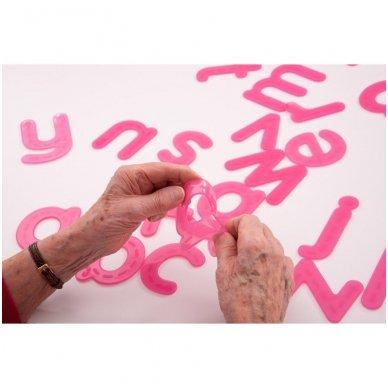 SiliShapes®  apvedžiojama abėcėlė - Pk26 4