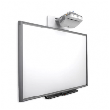 SMART Board X885 lenta su plačios optikos EPSON EB-535 projektoriumi