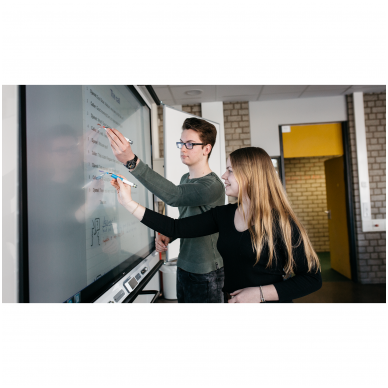 "SMART Board MX086 interaktyvus ekranas su iQ moduliu, ekranas 86"" 6"