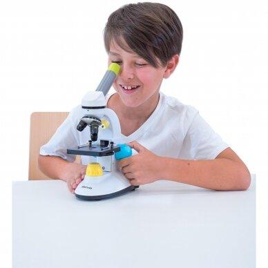 Spalvingas mokomasis mikroskopas 4