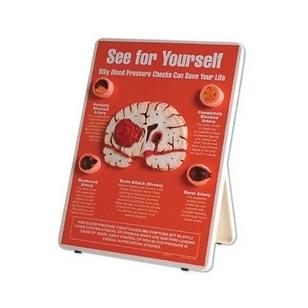 """Stovas """"Pasitikrink: kraujospūdžio kontrolė gali išgelbėti tavo gyvybę"""""""