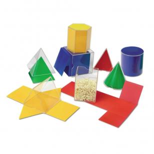 Sulankstomų geometrinių formų rinkinys