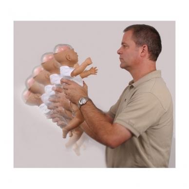 """""""Supurtyto kūdikio sindromas"""" demonstracinis modelis"""