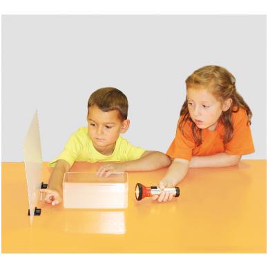 Šviesos ir garso eksperimentų rinkinys 4-7 metų amžiaus vaikams 2