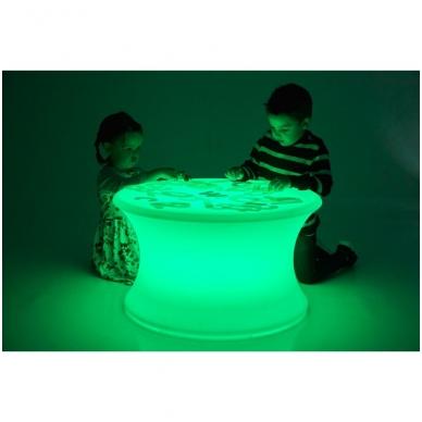 Šviesos sensorinis stalas (be priedų) 4