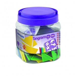 Tangramos 12 rinkinys