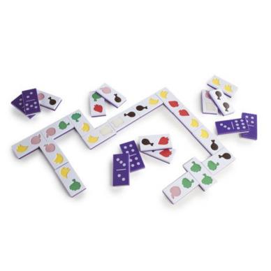"""Tekstūrinis domino ,,Maistas"""" 4"""