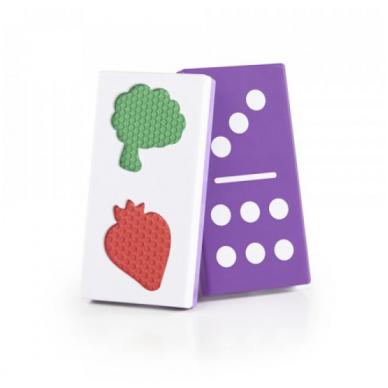 """Tekstūrinis domino ,,Maistas"""" 5"""