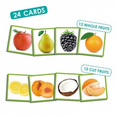 """Žaidimas ,,Uoslės jutimas: vaisiai ir jų aromatai"""" 2"""