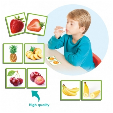 """Žaidimas ,,Uoslės jutimas: vaisiai ir jų aromatai"""""""