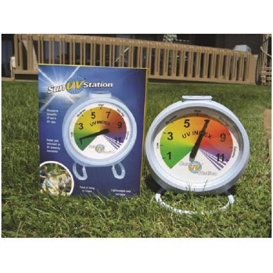UV spindulių matuoklis