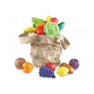 Vaisių ir daržovių krepšys