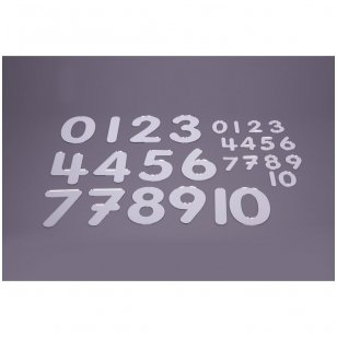 Veidrodiniai skaičiai 70mm - Pk14