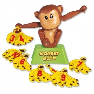 """Žaidimas ,,Beždžionių matematika"""""""
