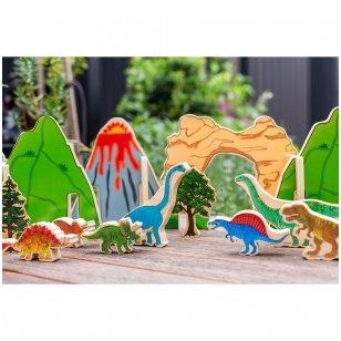 """Žaidimas """"Laimingi dinozaurai"""""""
