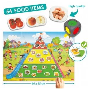 """Žaidimas ,,Sveiko maisto piramidė"""""""