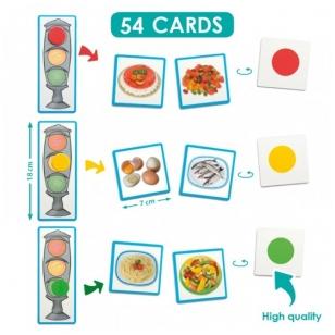"""Žaidimas ,,Sveiko maisto šviesoforas"""" (4-8 m.)"""