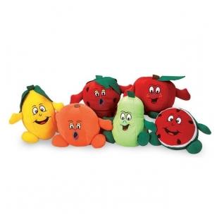 Žaislinis vaisių ir daržovių rinkinys (12 vnt.)