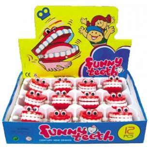"""Žaisliukai """"Linksmieji dantys"""" (24 vnt.)"""
